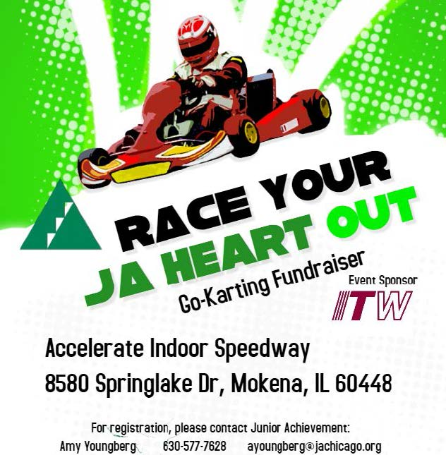JA Will County Board Go-Kart Fundraiser