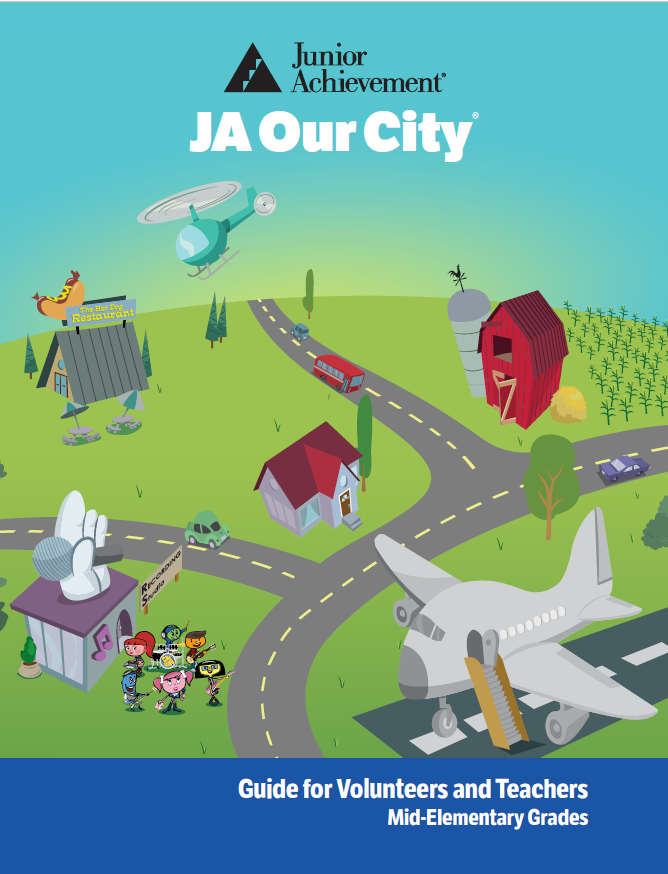 JA Our City cover