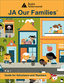 JA Our Families cover