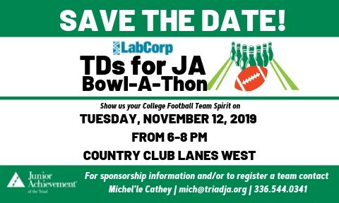 TDs for JA Bowl-A-Thon