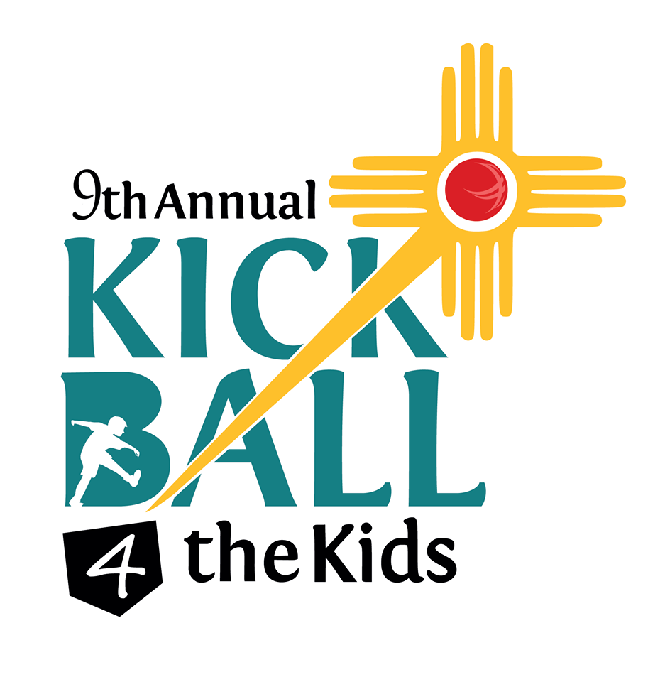9th Annual Kickball for the Kids Tournament Logo