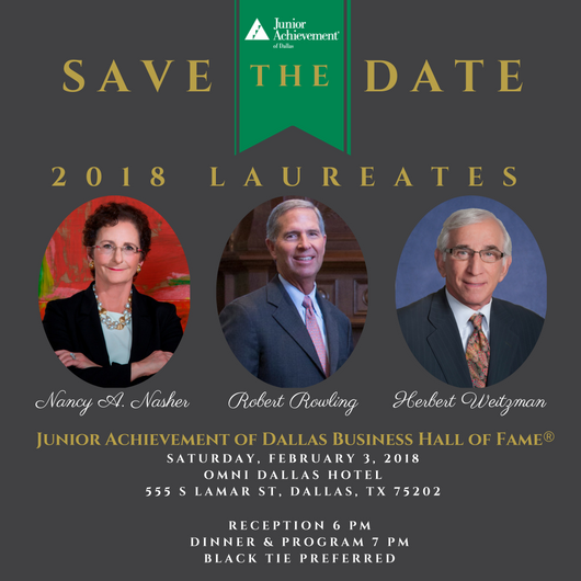 Junior Achievement of Dallas Business Hall of Fame<sup>&reg;</sup>
