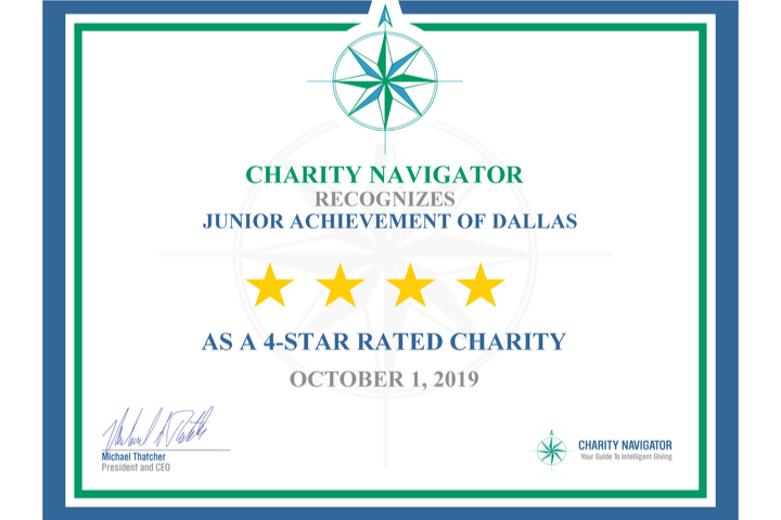 JAD Earns Top Rating from Charity Navigator