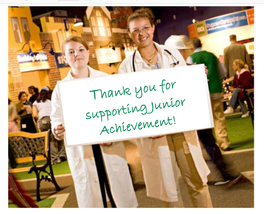 Thank you JA supporters