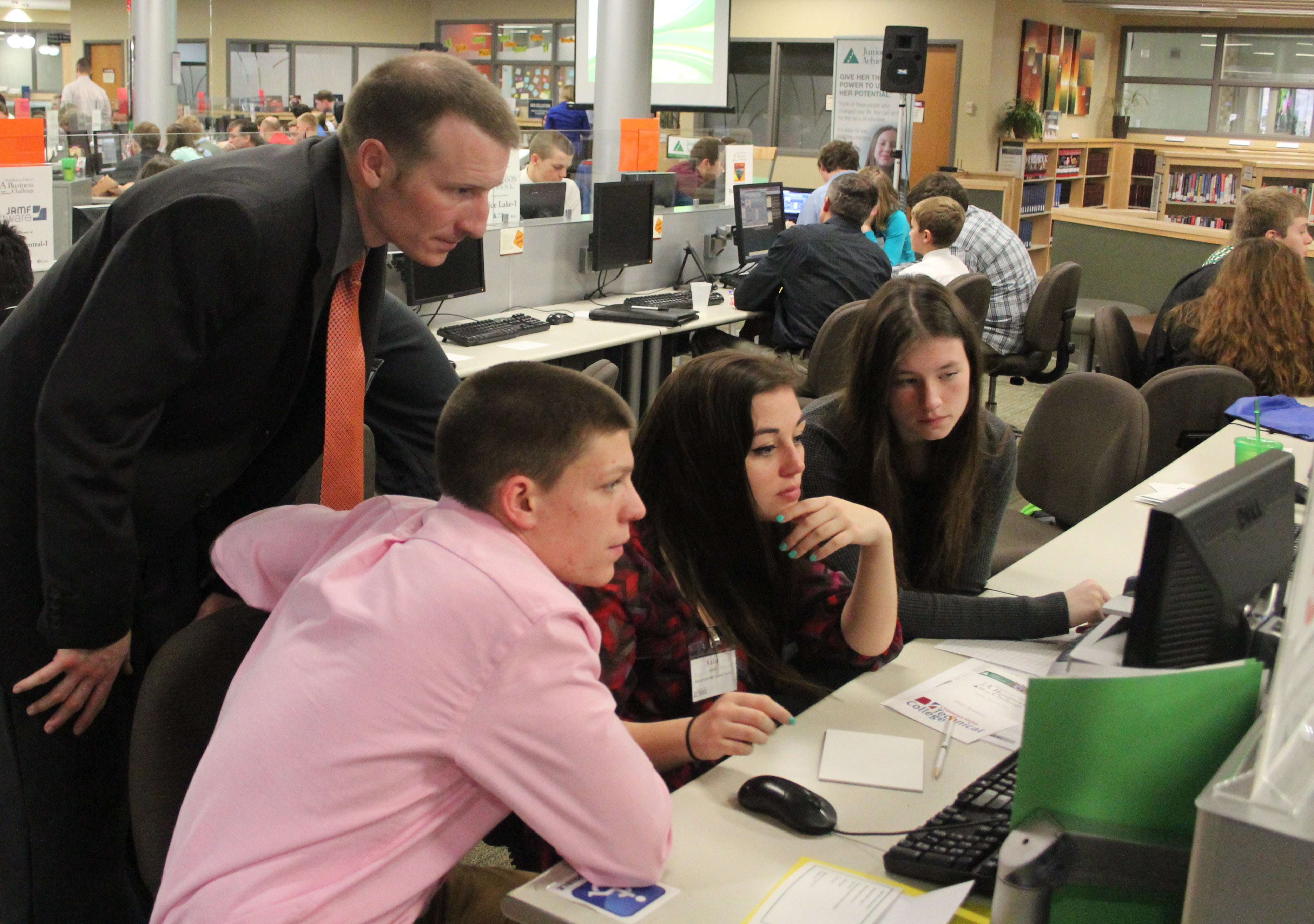 ... using Junior Achievement's JA Titan program which is an online business  educational program. The competition is designed that high school students  work ...