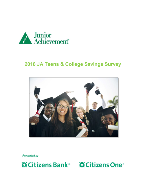 Teens and College Savings