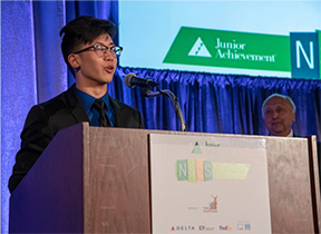 eric lin awarded jim sweeny award