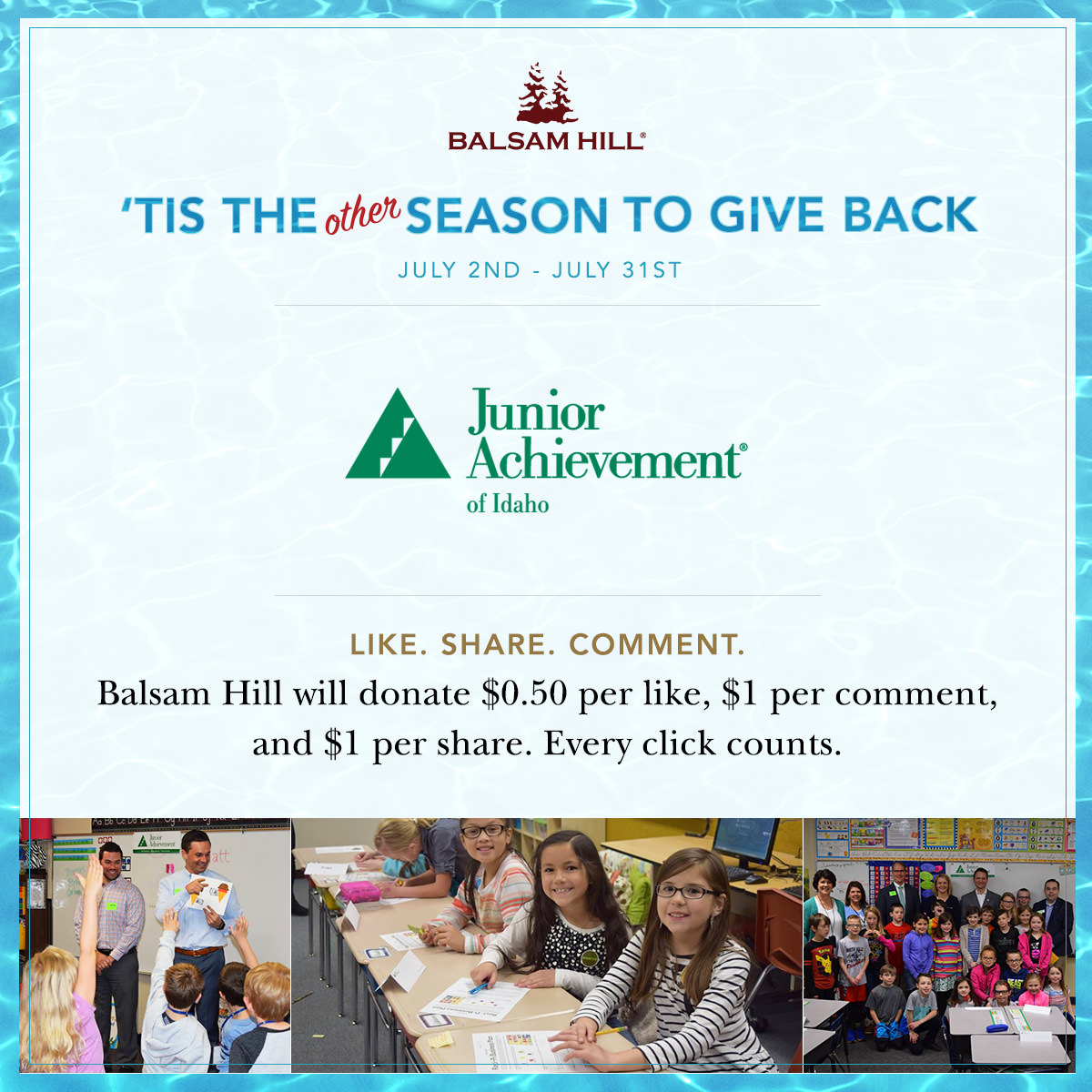 Balsam Hill A Charitable Christmas in July