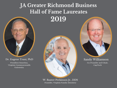 JA Greater Richmond Business Hall of Fame