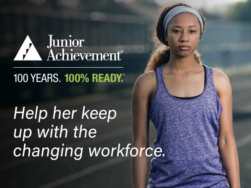 Junior Achievement: 100 YEARS  |  100% READY