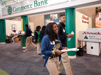 Capital One/JA Mobile Finance Park<sup>&reg;</sup> and JA BizTown<sup>&reg;</sup>