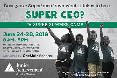 JA Summer Camp | Junior Achievement of Central Maryland