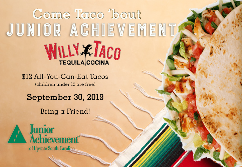 Junior Achievement Night at Willy Taco