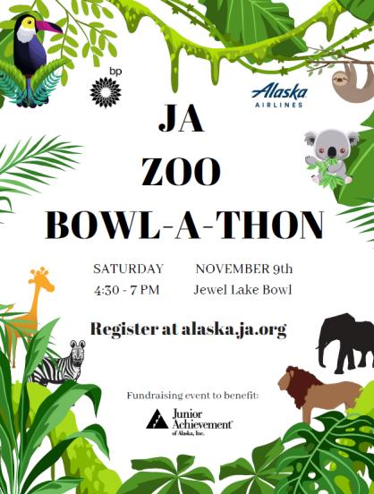 Junior Achievement Alaska ZOO Bowl-a-Thon
