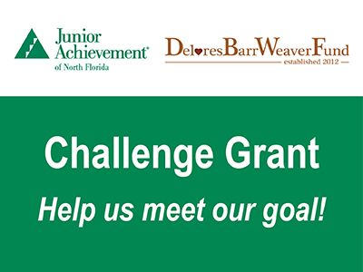 JA of North Florida receives Challenge Grant from Delores Barr Weaver Fund