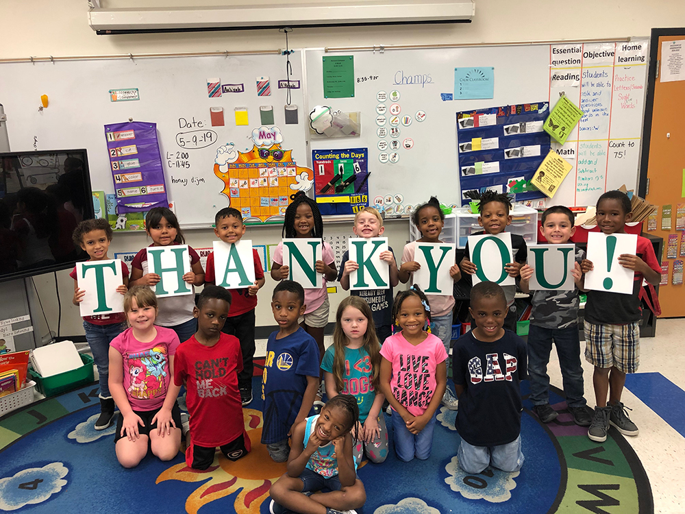 Thank you for supporting Junior Achievement and our students!