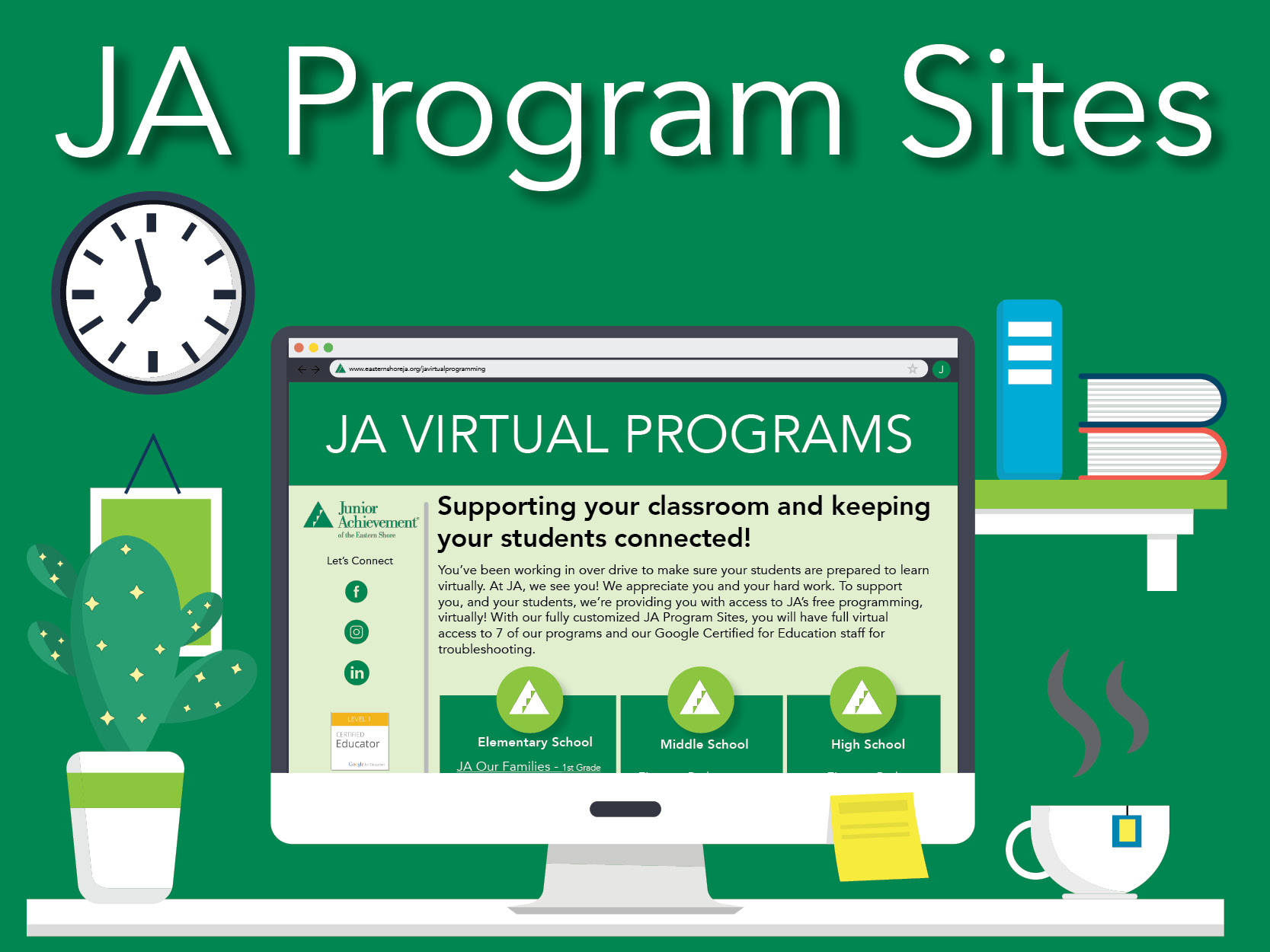 JA Virtual Programs - Coming Fall 2020!