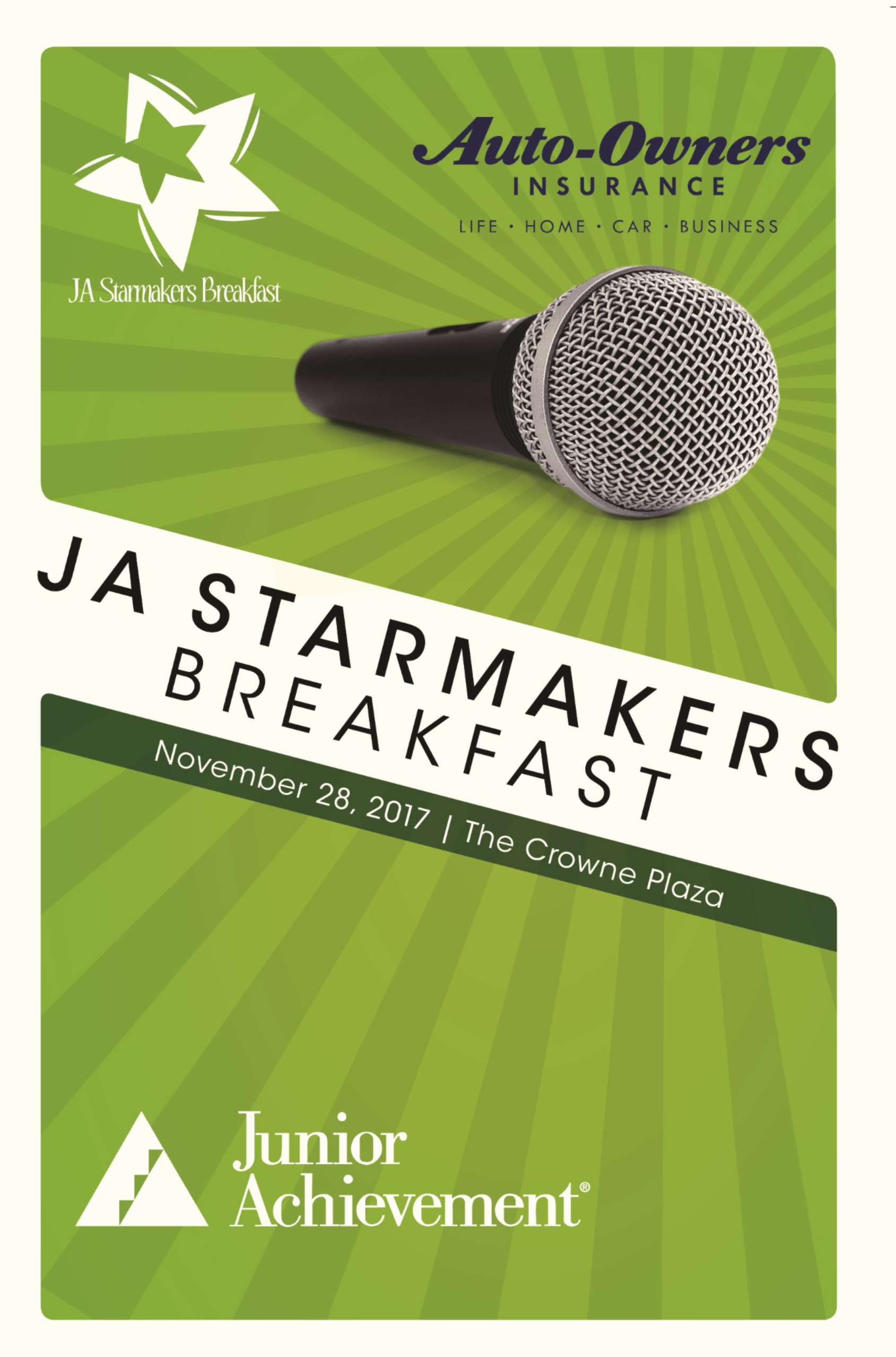 2018-2019 JA Starmakers Breakfast