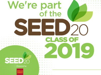 We're Part of the Seed 20 Class of 2019!