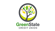 image of green state credit union logo