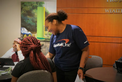 volunteer from capital one