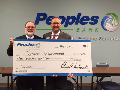Peoples Bank Donation