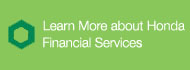 Learn More about Honda Financial Services
